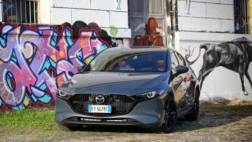 Prova Mazda Skyactiv-X: bassi consumi, prestazioni brillanti