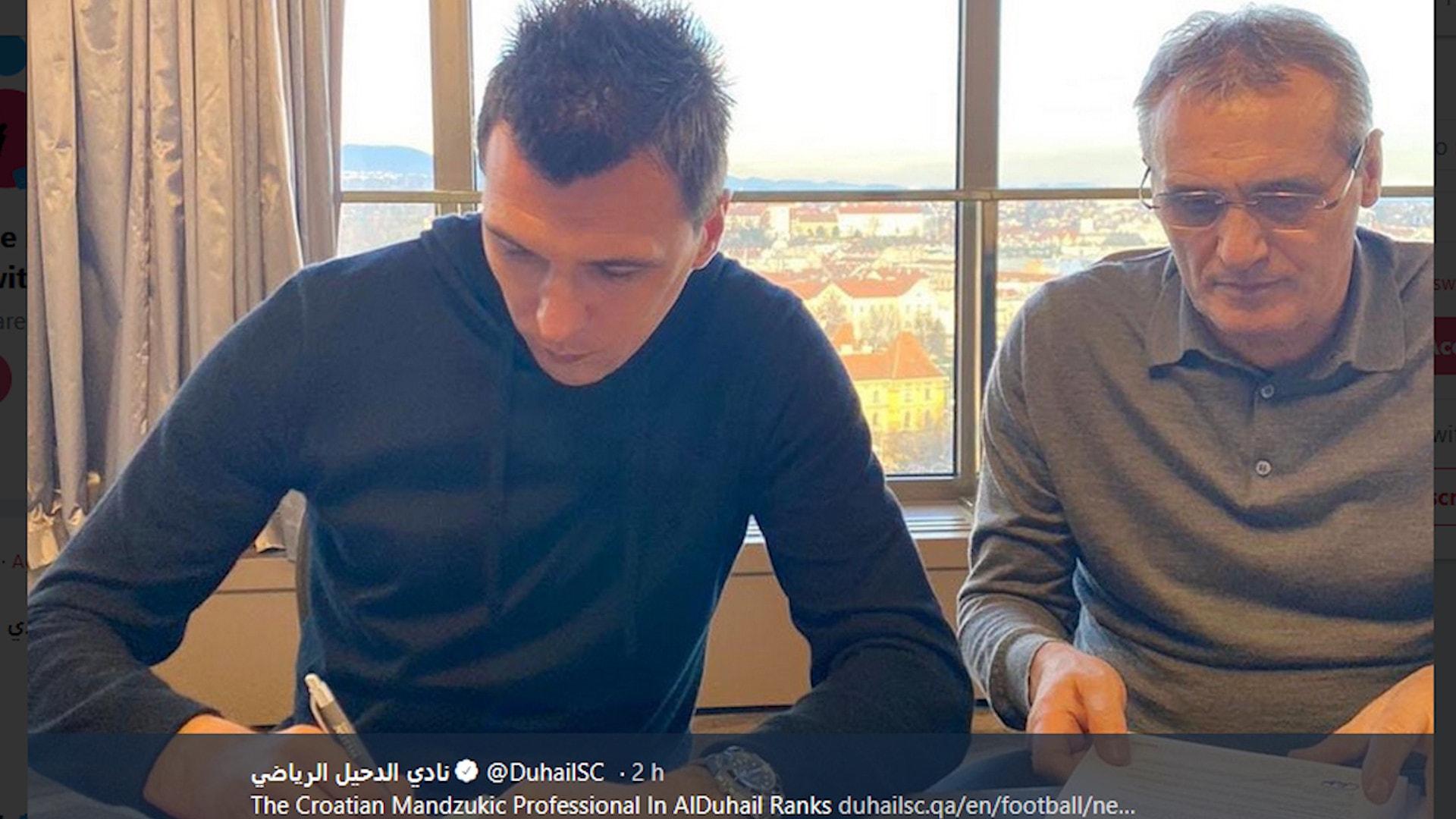Ufficiale: Mandzukic lascia la Juve e vola in Qatar