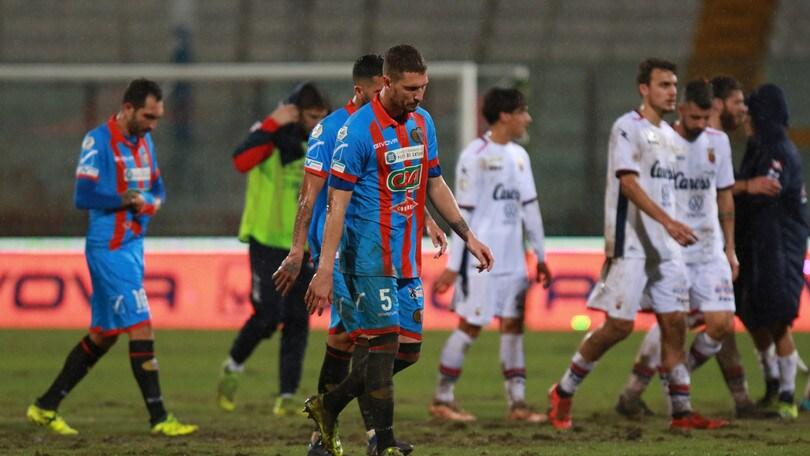 Catania, i calciatori mettono in mora il club