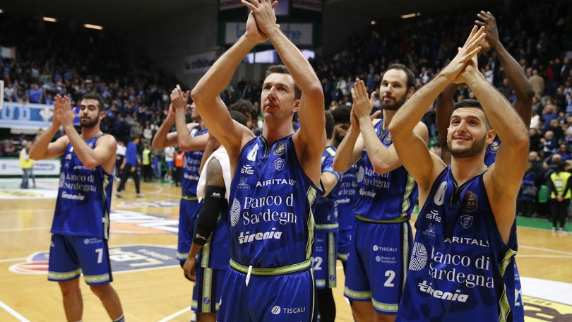 Sassari domina 101-79 a Treviso e consolida il secondo posto