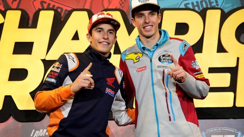 MotoGp, Virtual Race Misano: trionfa Alex Marquez, Rossi sul podio
