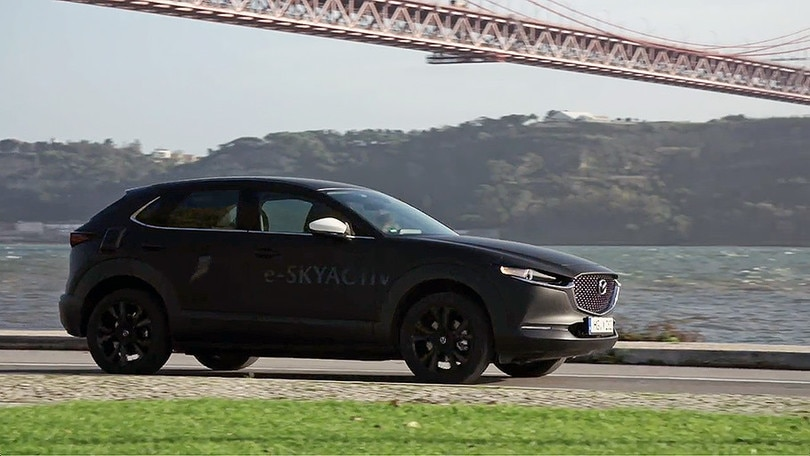 Prototipo Mazda MX-30, la video-prova