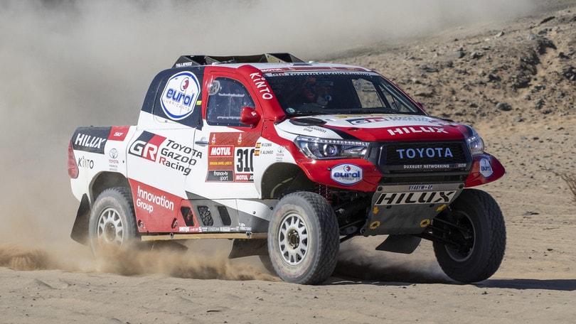 Dakar: buon esordio per Alonso, 11° dopo la prima tappa