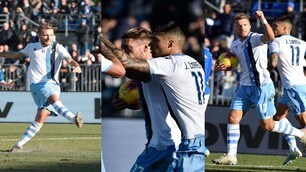 Lazio, si vola con Immobile: 2-1 al Brescia e nona vittoria consecutiva