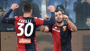 Pandev regala al Genoa la vittoria sul Sassuolo