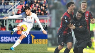 Benassi al volo e bolide di Orsolini: che gol in Bologna-Fiorentina!