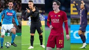 I giocatori che valgono di più: Lautaro primo in Serie A