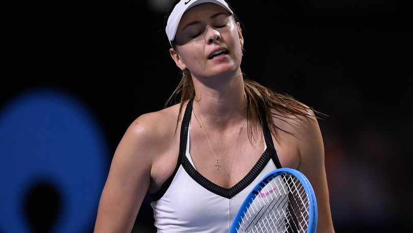 Sharapova eliminata al primo turno del torneo di Brisbane