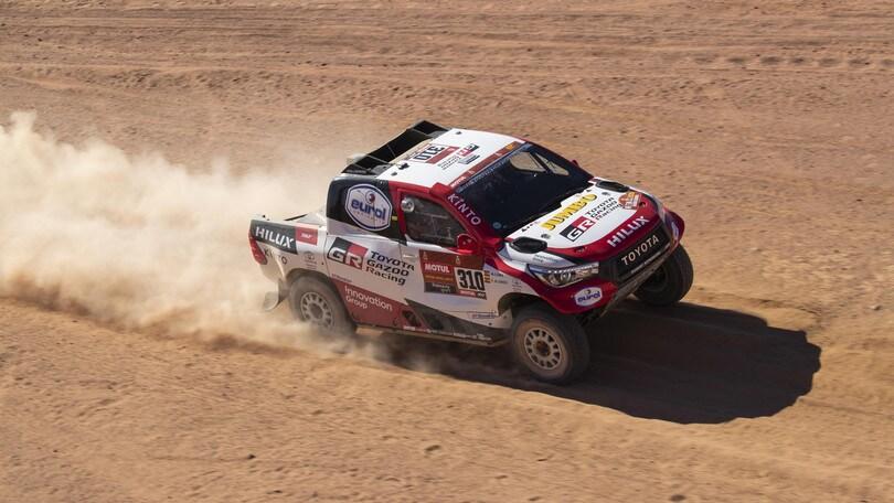 Dakar, Alonso quinto nella terza tappa