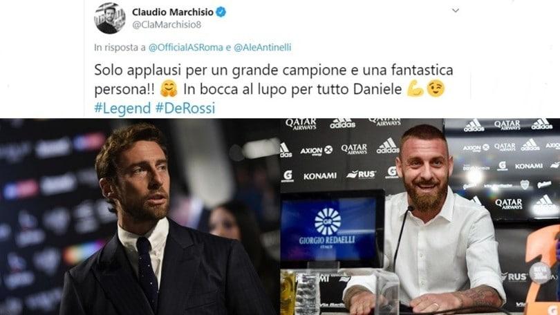 Marchisio omaggia De Rossi: