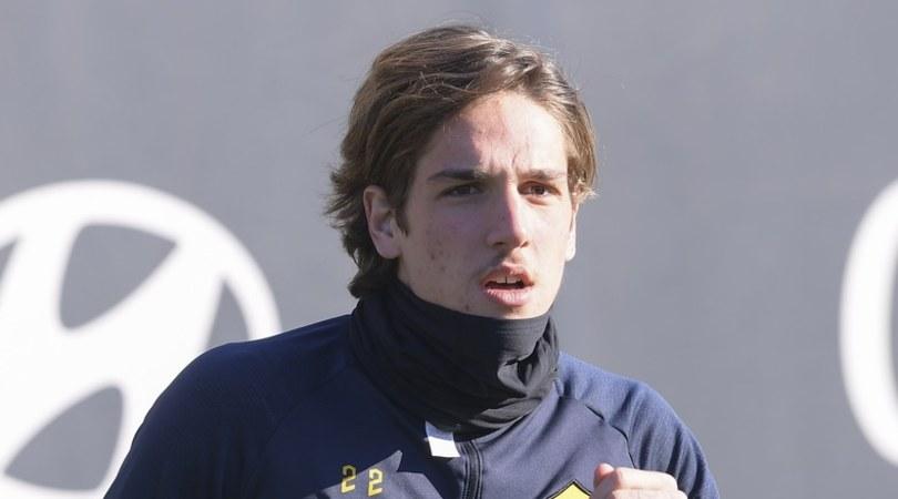 Zaniolo, ginocchio gonfio: è in dubbio per Roma-Juve