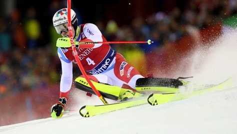 Madonna di Campiglio, Yule vince lo slalom: Moelgg in nona posizione