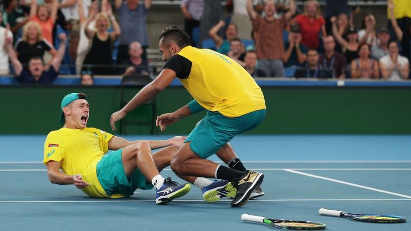 Atp Cup, Australia in semifinale: battuta la Gran Bretagna