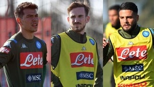 Gattuso fa sudare il Napoli: corsa e tattica aspettando Demme