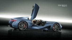 Maserati MilleMiglia Concept 2020: le immagini