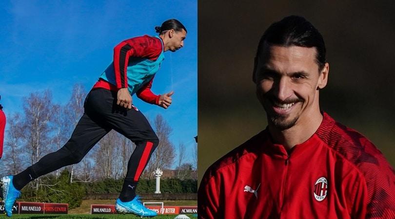 Milan, Ibrahimovic carica la squadra: grinta e sorrisi in allenamento