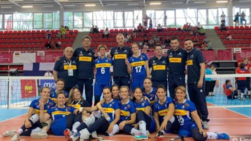 Sitting Volley: la femminile in partenza per i Pajulahti Games