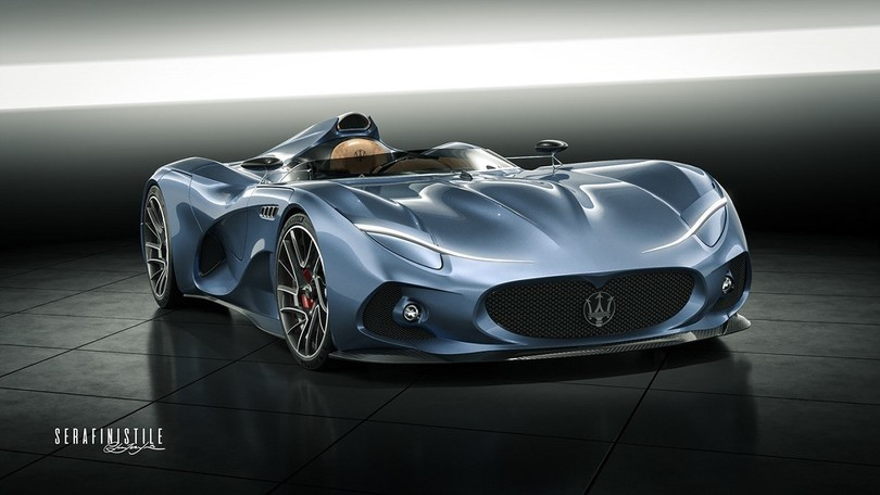 Maserati MilleMiglia Concept, la sexy speedster