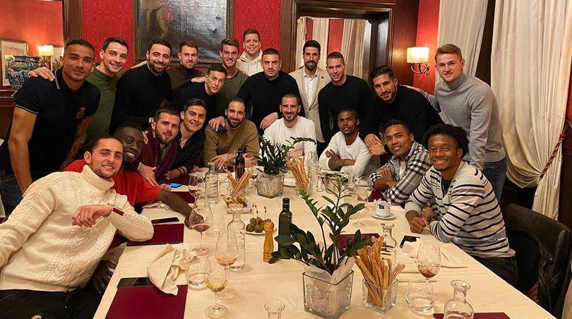 La Juve a cena, ma Ronaldo dov'è?