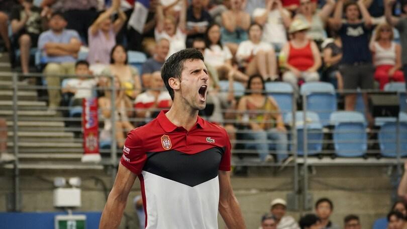 Atp Cup, Djokovic trascinatore: Serbia in semifinale