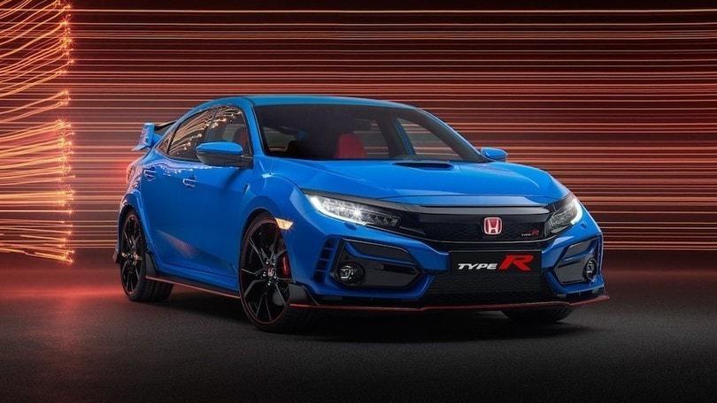 Honda Civic Type R restyling, cambiano freni e assetto