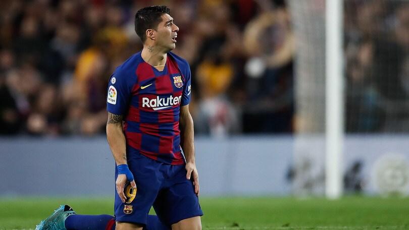 Barcellona, Suarez si opera: salta il Napoli in Champions?