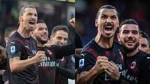 Ibrahimovic, che gol! E il Milan torna al successo: 2-0 al Cagliari