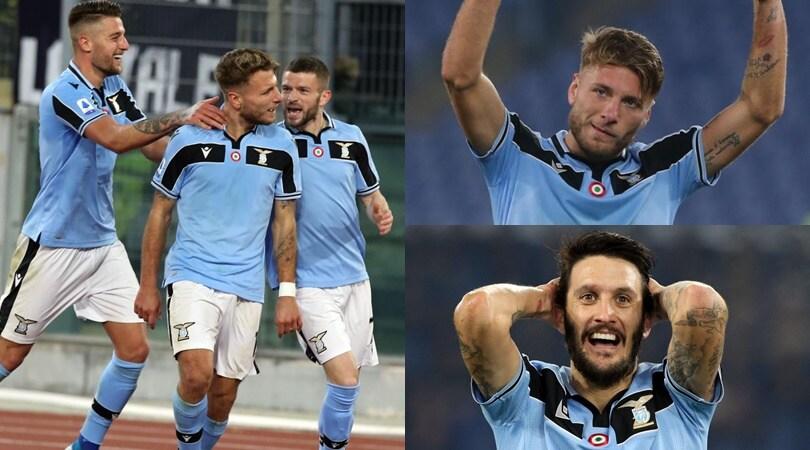 Lazio da record: in festa per la 10ª vittoria consecutiva