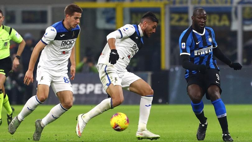 Inter-Atalanta 1-1, il tabellino