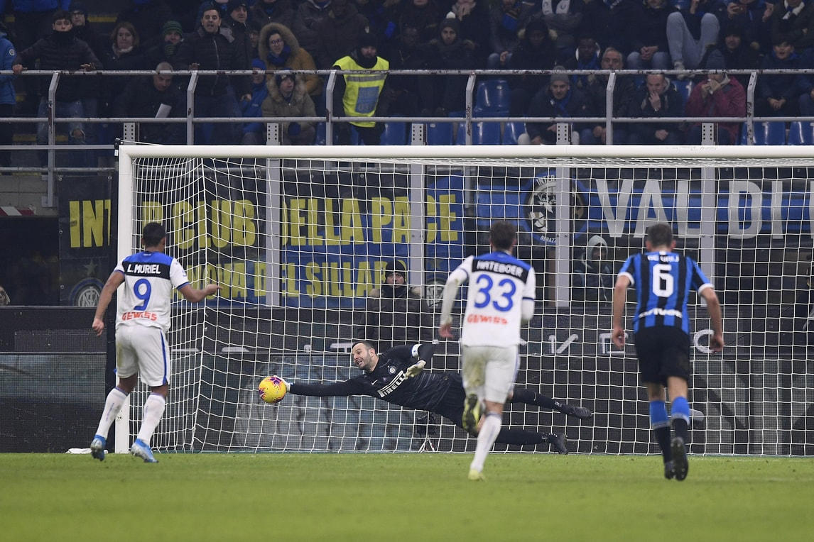 Inter, Handanovic evita il ko. Ma la Juve può diventare Campione d'inverno