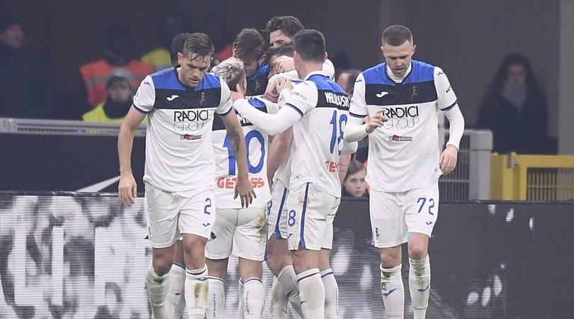 Inter-Atalanta 1-1: Gosens risponde a Lautaro, Handanovic salva su Muriel