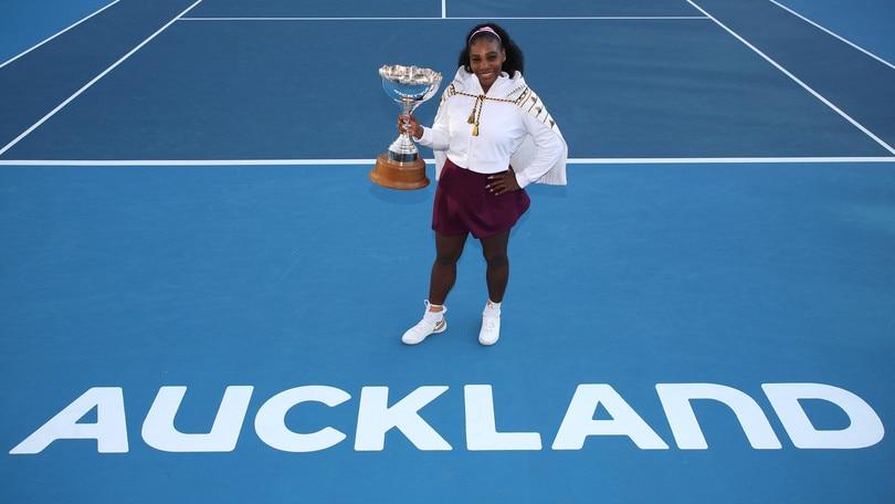 Serena Williams torna alla vittoria nel torneo di Auckland