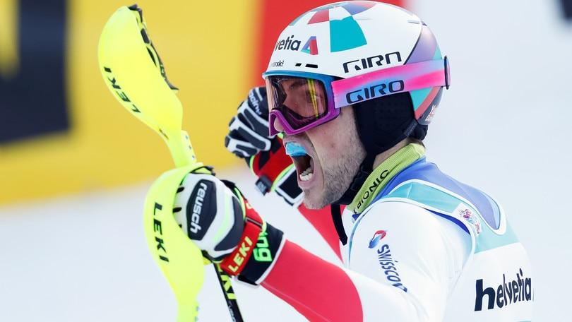 Yule vince lo slalom di Adelboden, male gli italiani