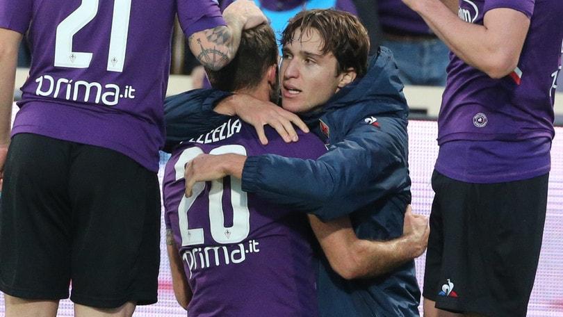 Fiorentina ok con Pezzella. Manita Sampdoria, bene il Torino