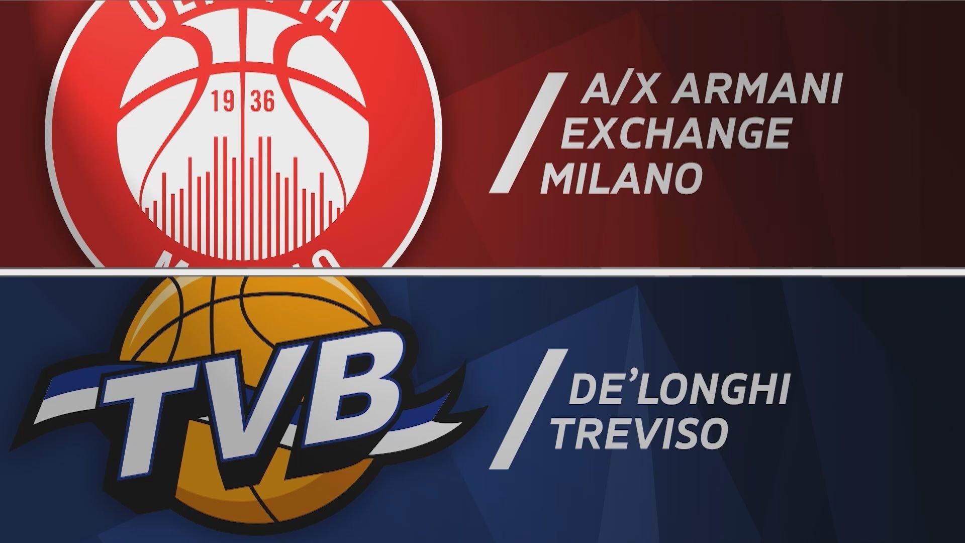 A|X Armani Exchange Milano - De'Longhi Treviso91-67