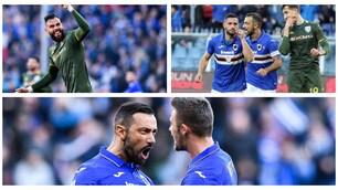 La Sampdoria ribalta il Brescia. A Marassi è 5-1