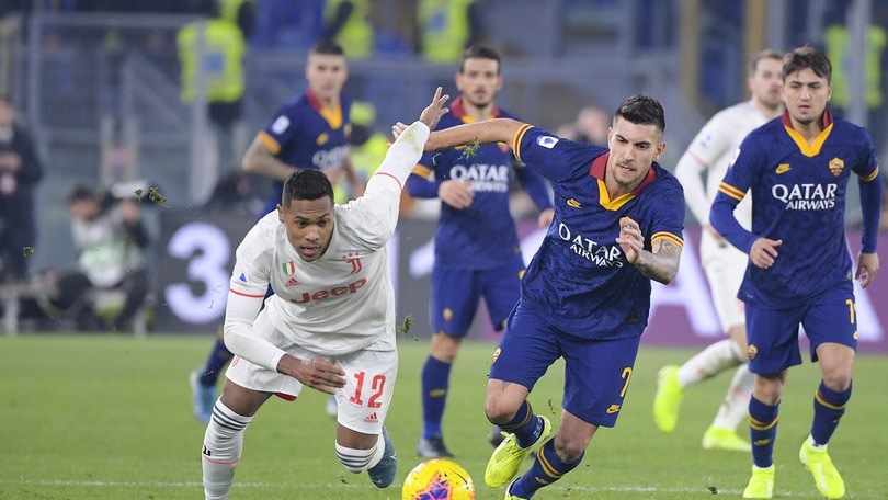 Roma-Juve 1-2, il tabellino