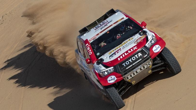 Dakar, Alonso secondo nell'ottava tappa
