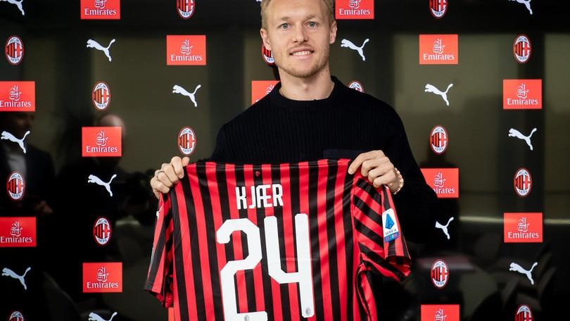 Milan, ecco Kjaer: