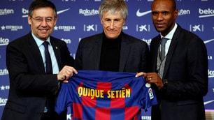 La prima di Setien, il nuovo allenatore del Barcellona