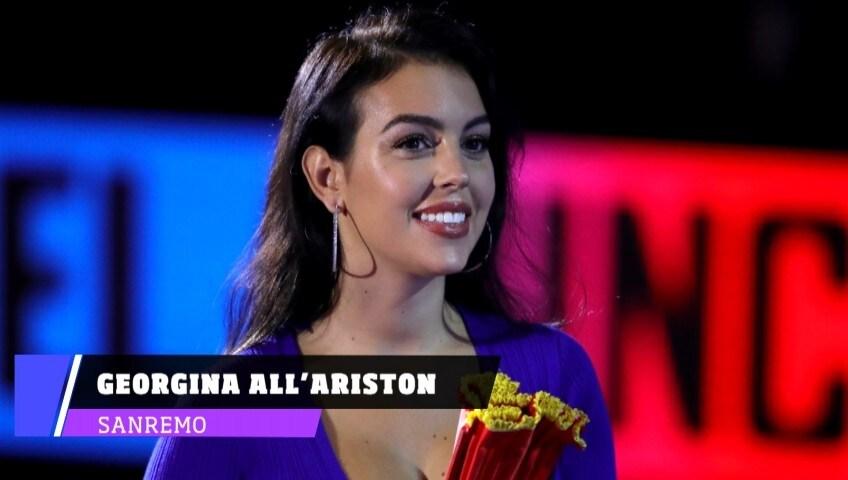 Sanremo, Georgina salirà sul palco dell'Ariston
