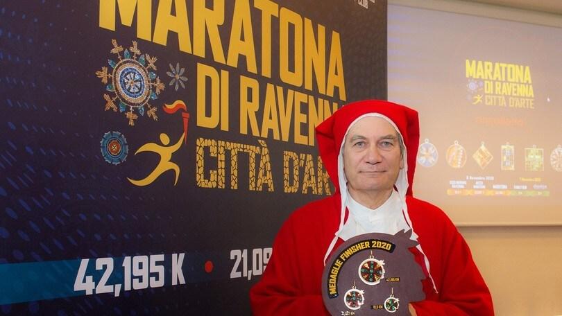 E' dedicata a Dante Alighieri la medaglia della prossima Maratona di Ravenna Città d'Arte