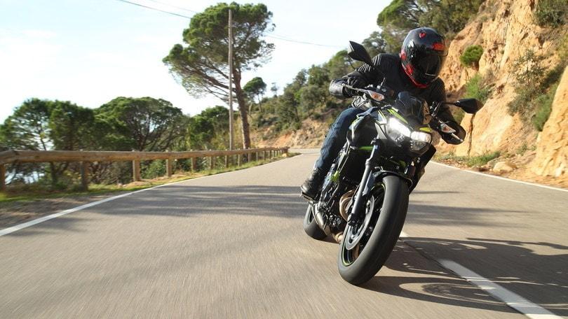 Kawasaki Z650 2020, novità col contagocce