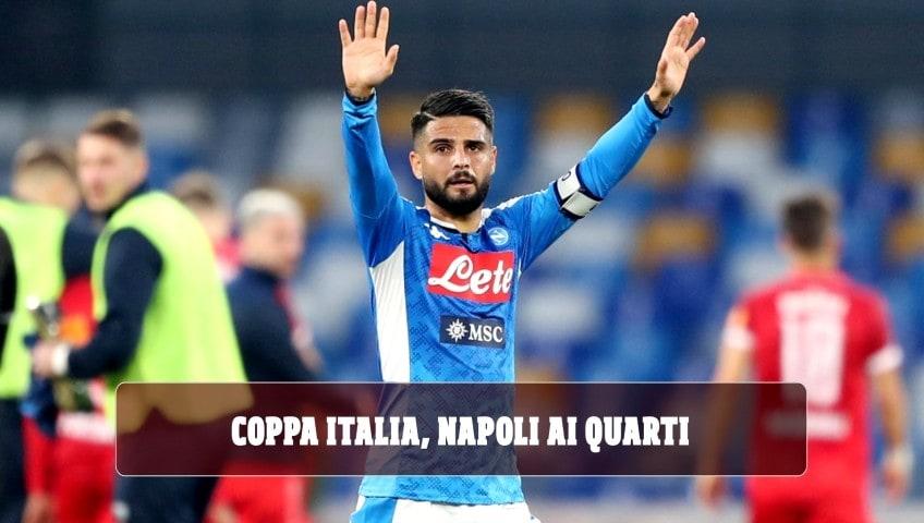 Coppa Italia, Insigne regala i quarti al Napoli