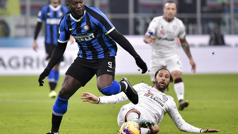 Coppa Italia Inter-Cagliari 4-1, il tabellino