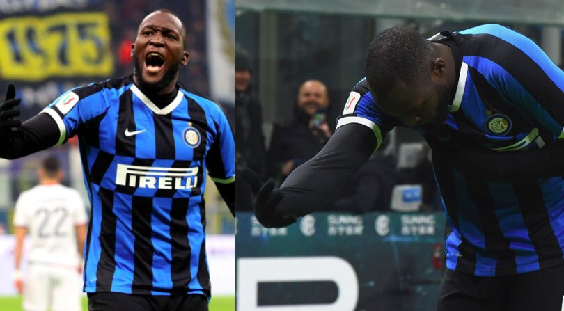 Inter, poker al Cagliari: doppietta e inchino per Lukaku