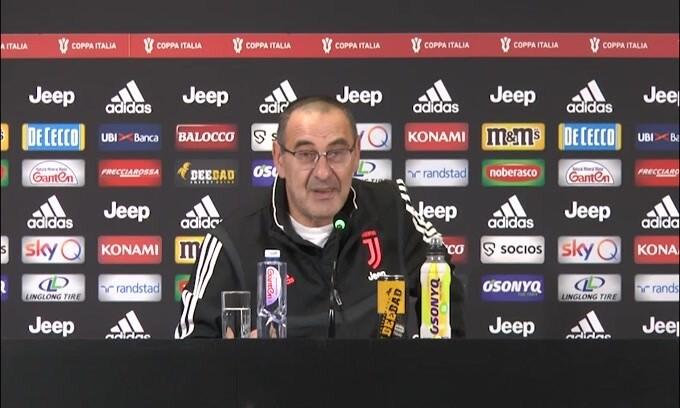 """Sarri ai giornalisti: """"Comunque giochiamo contro l'Udinese..."""""""