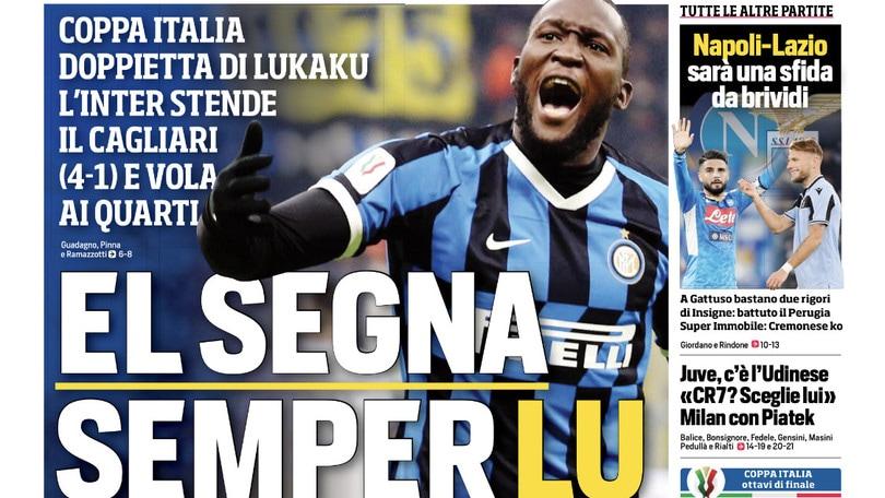 """""""El segna semper lu"""". Baggio: """"Forza Zaniolo!"""""""