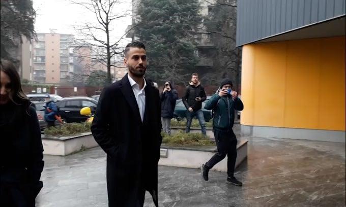 Inter, l'arrivo di Spinazzola per le visite mediche