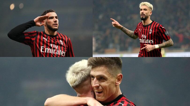 Finalmente Piatek. Il Milan batte 3-0 la Spal